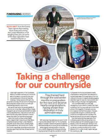 Countryside Alliance Magazine Summer 2012
